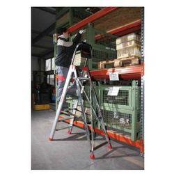 Profesjonalna drabina aluminiowa Faraone 9 stopniowa Domus 9 wysokość robocza 3,80 m