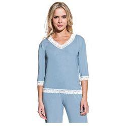 Damska bambusowa piżama ROZALIE Niebiesko-szary S