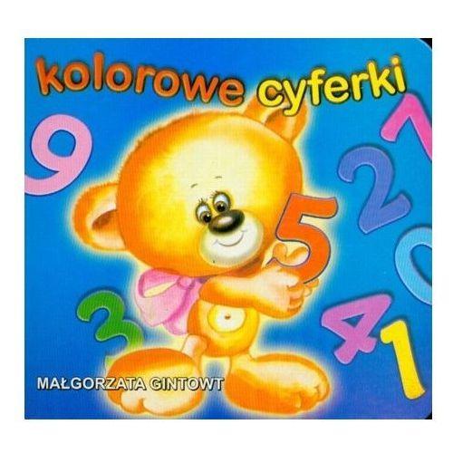 Książki dla dzieci, Kolorowe cyferki (opr. kartonowa)