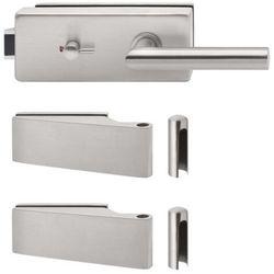 Zawias (2szt)+ Zamek drzwiowy WC