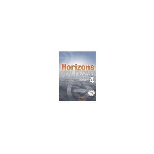 Książki do nauki języka, Horizons 4 SB OXFORD - Paul Radley, Daniela Simons, Colin Campbell (opr. broszurowa)