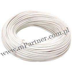 Przewód LGY 1x1,0 mm biały