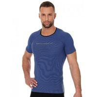 Pozostała odzież sportowa, Brubeck ss11920 koszulka męska 3d run pro z krótkim rękawem ciemnoniebieski