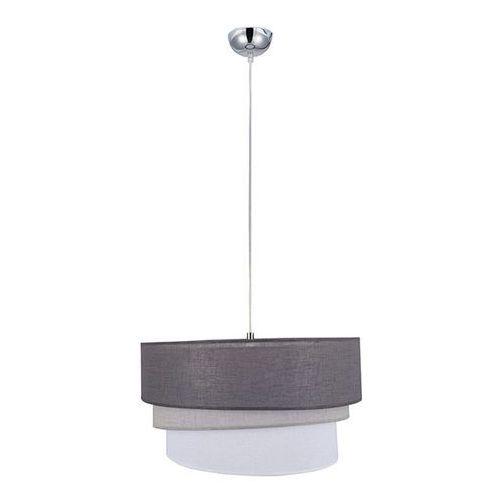 Lampy sufitowe, Lampa wisząca Trio 1 x 40 W E27 gray