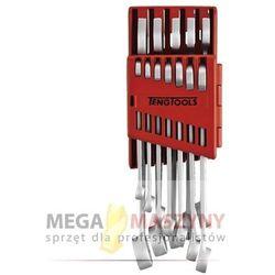 TENGTOOLS Zestaw kluczy płasko - oczkowych, 12 szt 238180103
