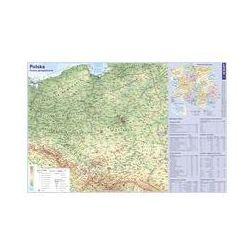 Podkładka na biurko Mapa Polski. Darmowy odbiór w niemal 100 księgarniach!