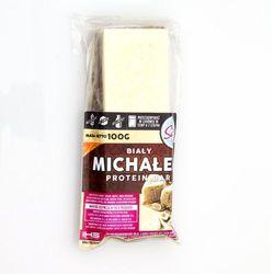 Baton wysokobiałkowy LIGHT SUGAR Biały Michałek Protein Bar 100g Najlepszy produkt Najlepszy produkt tylko u nas!