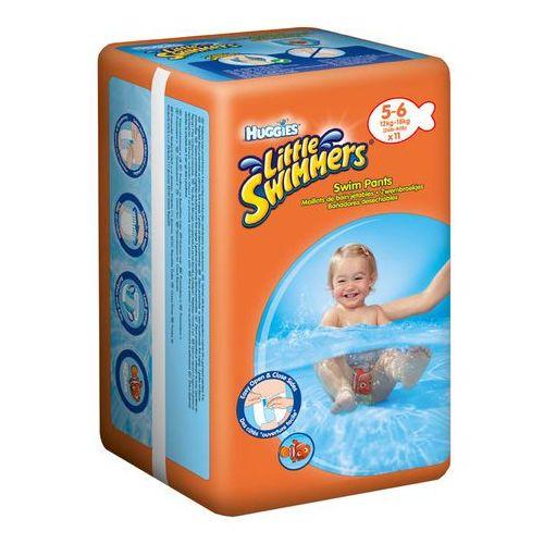 Pieluchy do pływania, HUGGIES LITTLE SWIMMERS Large (12-18kg) majteczki 11szt pieluszki do pływania