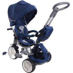 Rowerek trójkołowy Sun baby Little Tiger, wieloetapowy 6w1 - niebieski