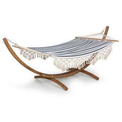 Blumfeldt Bali Swing, hamak, modrzew, 160 kg maks., 320 g/m², wzór w paski