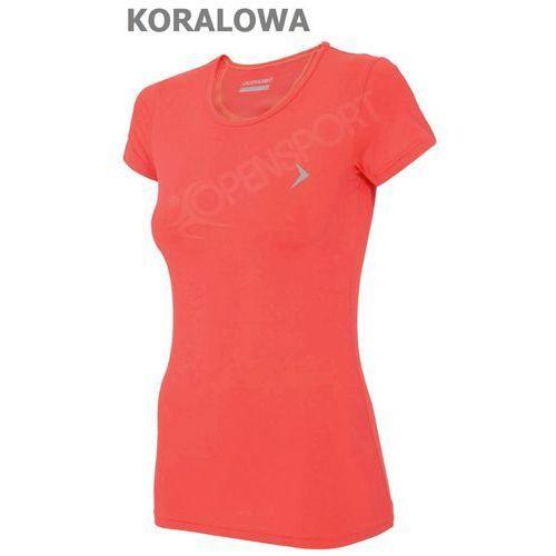 Odzież fitness, DAMSKA KOSZULKA FITNESS OUTHORN TOZ16 TSDF600 KORAL M