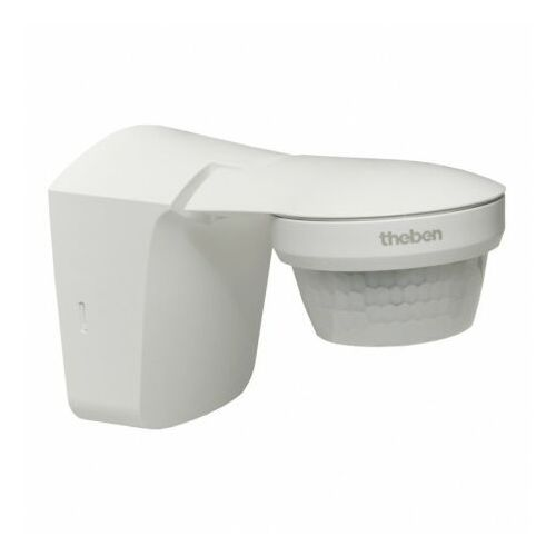 Czujki alarmowe, Zewnętrzny ruchomy czujnik ruchu 360st. IP55 theLuxa S360 biały TH-N 0264