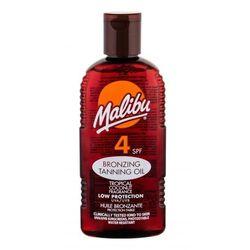 Malibu Bronzing Tanning Oil SPF4 preparat do opalania ciała 200 ml dla kobiet