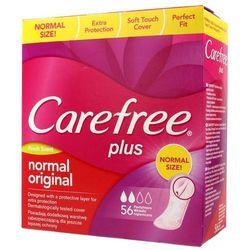 Carefree Plus Normal Original Fresh Scent Wkładki higieniczne 1op.-56szt