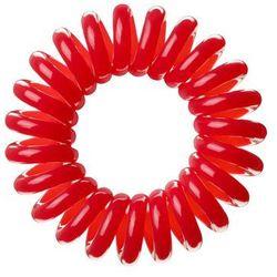 Invisibobble The Traceless Hair Ring gumka do włosów 3 szt dla kobiet Red