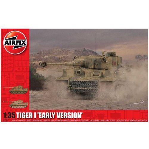 Figurki i postacie, Model plastikowy Tiger-1 Wczesna wersja