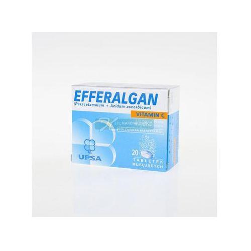 Leki na gorączkę, EFFERALGAN Z VITAMINĄ C 20 tabletek musujących