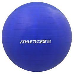 ATHLETIC24 Classic 55 niebieska - PIłka fitness - Niebieski