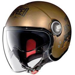 KASK NOLAN N21 VISOR MOTO GP 31 SCRATCHED FLAT COPPER