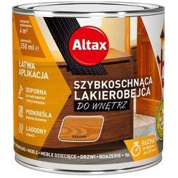 Lakierobejca szybkoschnąca do wnętrz Altax kasztan 0,25 l