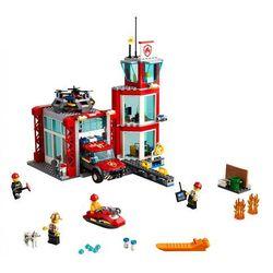 LEGO Polska City Remiza strażacka