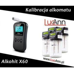 Kalibracja alkomatu Alkohit X60 + Świadectwo kalibracji