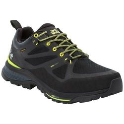 Buty w góry męskie FORCE STRIKER TEXAPORE LOW M black / lime - 9,5