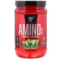 Aminokwasy, BSN Amino X 435 - Green Apple