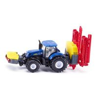 Traktory dla dzieci, Siku Traktor New Holland z opryskiwaczem