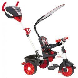 Little Tikes Trójkołowy rowerek 4w1 SPORT biało/czerwony - BEZPŁATNY ODBIÓR: WROCŁAW!