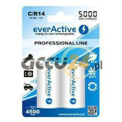 2x akumulatorki everActive R14/C Ni-MH 5000 mAh ready to use