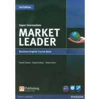 Książki do nauki języka, Market Leader Upper Intermediate Business English Course Book + Dvd (opr. miękka)