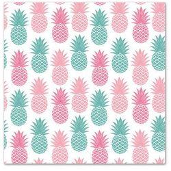 POL-MAK Serwetki 33 x 33 cm, 20 sztuk, Kolorowe ananasy (SDOG 014001) Darmowy odbiór w 21 miastach!