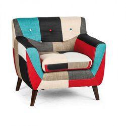Fotel patchworkowy GRAND