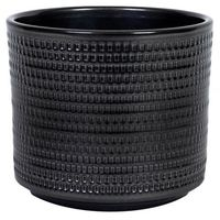 Doniczki i podstawki, Osłonka doniczki Cermax Calla cylinder 12 cm stare srebro