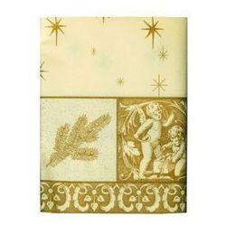 Obrus świąteczny imitujący tkaninę ( 80cm x 80cm) 12547
