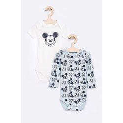 Name it - Body niemowlęce Disney Mickey Mouse 50-74 cm (2-pack)