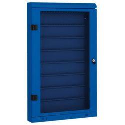 Szafka na klucze, 160 szt, niebieska