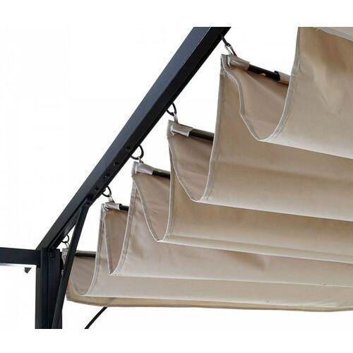 Namioty ogrodowe, Pawilon ogrodowy 3 x 3 pergola dach ruchomy