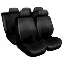 Skórzane pokrowce samochodowe Comfort czarne