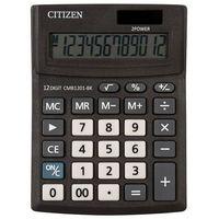 Kalkulatory, Kalkulator biurowy CITIZEN CMB1201-BK Business Line, 12-cyfrowy, 137x102mm, czarny