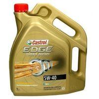 Oleje silnikowe, 5W40 CASTROL EDGE TURBO DIESEL 5L