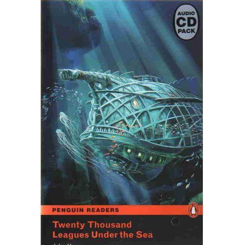 Książki do nauki języka, Twenty Thousand Leagues Under the Sea plus Audio CD Penguin Readers Classic (opr. miękka)