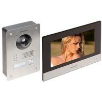 Domofony i wideodomofony, ZESTAW WIDEODOMOFONOWY DS-KIS703-P Hikvision
