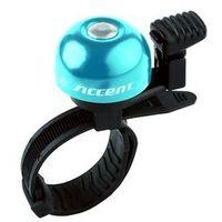 Dzwonki rowerowe, 610-06-983_ACC Dzwonek Accent Ding niebieski