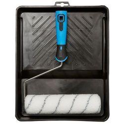Zestaw malarski Diall z kuwetą 23 cm 3 części