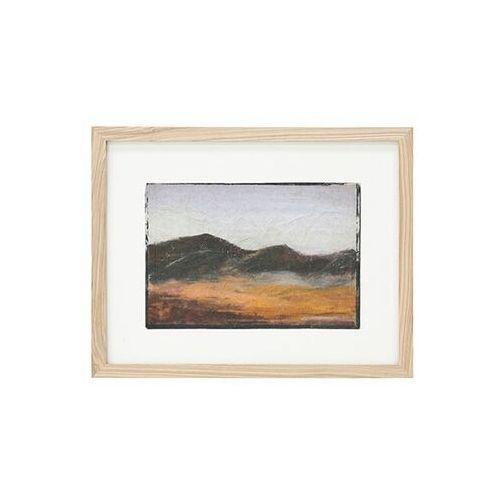 Obrazy, HKliving Mały obraz w ramce rozmiar S: góry AWD8873