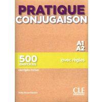 Książki do nauki języka, Pratique conjugaison a1/a2 podręcznik + klucz - odile grand-clement (opr. miękka)