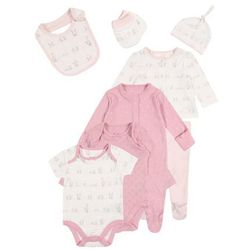 mothercare GIRLS MY FIRST GIFT BABY SET Pozostałe pink