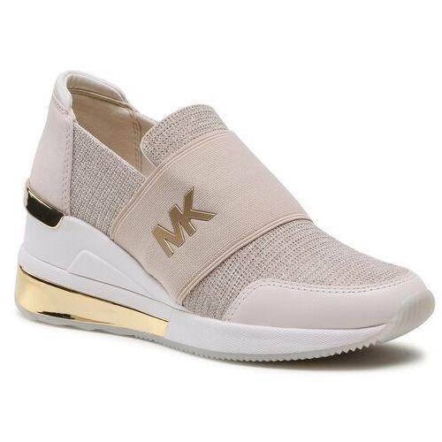 Damskie obuwie sportowe, Sneakersy MICHAEL MICHAEL KORS - Felix Trainer Extreme 43S1FXS4D Champagne